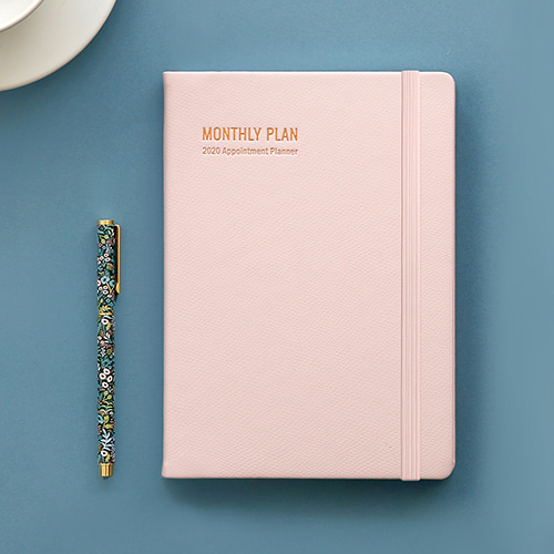 2020 Appointment Planner [A5 Monthly Plan]