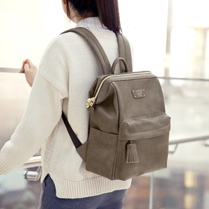 CRATTE MINI OFFICE LEATHER BACKPACK