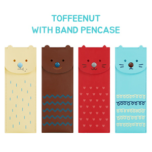 TOFFEENUT WITH BAND PENCASE